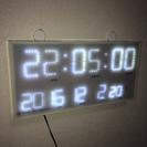 デジタル掛時計