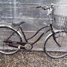 あさひ ママチャリ 26インチ シングルギヤ カギ新品 中古自転車...