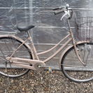 あさひ ママチャリ 27インチ シングルギヤ カギ新品 中古自転車...