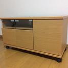 LC110701 キャスター付きオシャレテレビボード