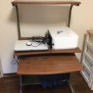 パソコンなどを置く台