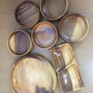 木のお皿セット