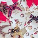 【銀座近く!勝どき】大人気レッスン!ポーセラーツクリスマスプレート作り♡