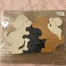 木製パズル 一個200円