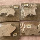 木製パズル 一個100円