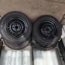 ★フィットGE6 スタッドレスタイヤ4本セット 鉄ホイール★