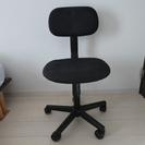 キャスター付き椅子 黒