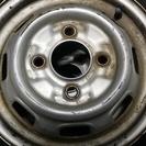 旧型ダイハツ軽 12インチホイール+タイヤ 4本セット 中古