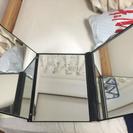 折り畳み式3面鏡