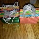 折り紙で作った紙袋