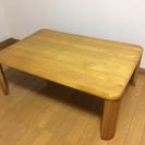 LC110703 木目調 シンプル折りたたみ座卓