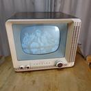アンティーク 東芝製真空管白黒テレビ