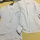 城東高校制服(男子用ワイシャツ)夏冬セット