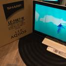SHARP AQUOS 24型 (2012年製)