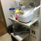 レンジ台、米びつ、炊飯器台