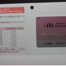 三越伊勢丹 株主優待 限度額20万円 H29.7.31まで 送料無料