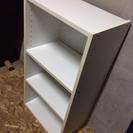 LC110911 ホワイト3段カラーボックス