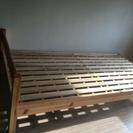 相談中!無印シングルベッド   美品です