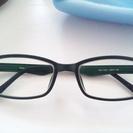 合えばラッキー 度入りメガネ 深緑
