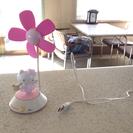 USB ハローキティー 扇風機