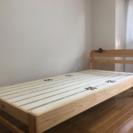 シングルベッド台 (コンセント付き)