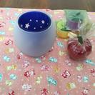 【未使用】キャンドルカップ&キャンドルのセット