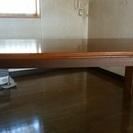 「取引中」 FUJIMOKU テーブル&椅子6脚