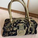 ゴブラン織りのバッグ