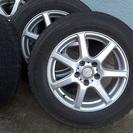 16インチ・6.5Jアルミ・5穴+スタッドレスタイヤ(215-60...