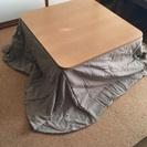 無印良品 こたつ テーブル 美品傷なし こたつ布団セット