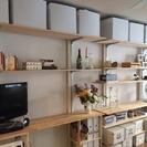 DIY 壁シェルフセット(賃貸でも安心、ディアウォール活用!)