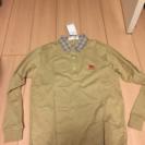 少々シミあり 新品未使用 タグ付き Burberrys 長袖シャツ