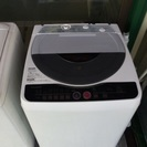 SHARP洗濯機ES-FG60H-H