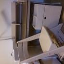 【交渉中】ITOKIアンファニア学習机、学習チェア、蛍光灯スタンド