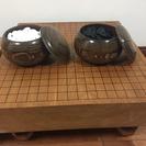 松寿の碁盤と将棋盤
