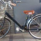 黒い自転車