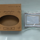 キャンドゥ ガラスフォトフレーム L版カーブ横 未使用品