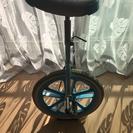 一輪車 水色