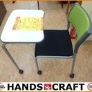 【引取限定】 テーブル一体型 オフィスチェア 【小倉南区葛原東】