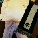 クレージュマフラー ポケットハートドット柄パジャマ セット