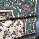 大きサイズ カーペット絨毯みどり  中古品