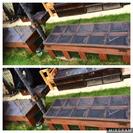 DIY  ガーデンベンチ収納ストッカー