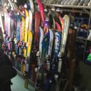 子供用スキーなどがたくさん揃ってます