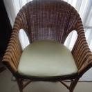 中古 お引き取りのみ oliver オリバー /ラタン/籐/ 椅子...