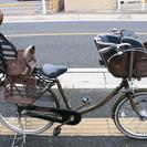 年末感謝セール! こども乗せ自転車 ジャンク扱いです!