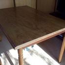 【お譲り先が決まりましたので終了】無料  ダイニングテーブルと椅子...