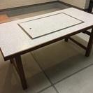 鉄板焼き お好み焼き テーブル ダイニング 別注 都市ガス 美品