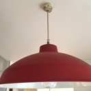 2灯ライトシェード 赤