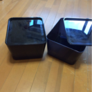 【IKEA 収納BOX 2set】