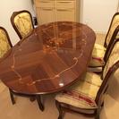 テーブルと椅子×4脚